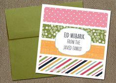 Eid card printable