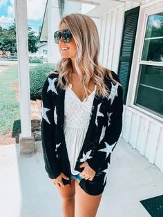 State of Dreaming Cardigan: Black - Off the Racks Boutique Black Cardigan, Apple Watch Bands, Boutiques, Spring Fashion, Cool Style, Cover Up, Community, Clothes For Women, Shopping