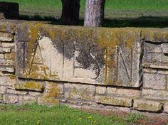 Limestone wall at Taliesin