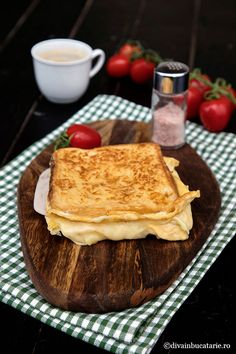 Street Food, Pancakes, Sandwiches, Toast, Breakfast, Recipes, Diva, Red Peppers, Morning Coffee