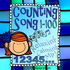 """A soothing voice counts 1-100 over new-age music, with a heartbeat rhythm. Helps kids focus, relax, and even fall asleep! A calming """"Magic Timer."""" CCSS Counting and Cardinality K.CC.A.1"""