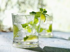 Learn to Make the Perfect Mojito: The Mojito is a great drink to practice your muddling skills with and it's so refreshing that you'll be muddling all the time.