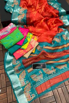 Elegant Fashion Wear, Trendy Fashion, Picnic Blanket, Outdoor Blanket, Border Print, Printed Sarees, Jute, Colours, Pretty