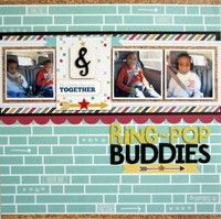 A Project by AllisonLP from our Scrapbooking Gallery originally submitted 08/09/13 at 04:03 PM