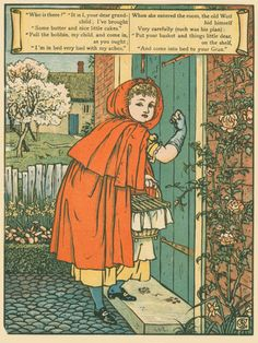 Walter Crane – Red Riding Hood