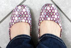 Repurpose and old pair of shoes with Mod Podge and paper! Love this!  http://www.modpodgerocksblog.com/p/top-five-posts.html