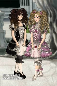 Lolita Lasses ~ by AdiposeNarnian ~ created using the LotR Hobbit doll maker | DollDivine.com