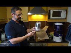 Pi víztisztító kicsomagoló és összeszerelő videó Maunawai Quelle PiPrime – K8 Asztali vízszűrő - YouTube Youtube, Youtubers, Youtube Movies