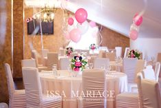 Christening, Minnie Mouse, Table Decorations, Furniture, Home Decor, Weddings, Decoration Home, Room Decor, Home Furnishings