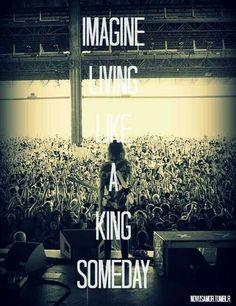 Imagine i'm your queen somday! #piercetheveil #kingfortheday