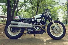 harley sportster tracker   Harley Davidson Sportster 883 Dirt Track