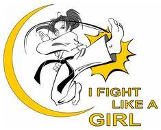 Karate girls!  :)