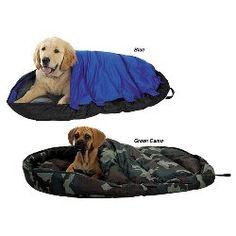 Pet Sleeper Travel Bed / Dog Sleeping Bag