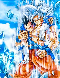 Goku: hi you're alright Vegeta Vegeta: Fuck you kakarot Goku: yeah you good Dbz, Dragon Ball Z, Heavy Metal Girl, Drawing Superheroes, Epic Characters, Illustrations, Comic Art, Photos, Pictures