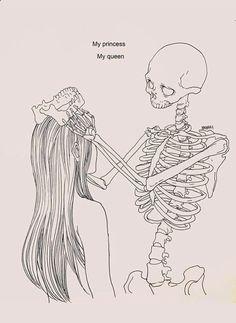 Haenuli Shin illustre sa dépression avec son couple avec la mort - www.dessein-de-de...