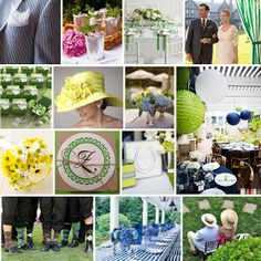 CAKE. | events + design: custom inspiration board: a kentucky derby baby shower