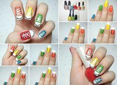 Converse Nails :)