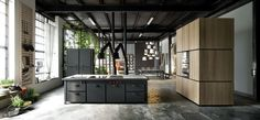 Apartment in Milan by Silvio Stefani
