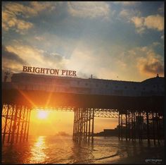 Brighton Pier: the owners changed the sign from Palace Pier in 2000, an informal name change not recognised by the National Piers Society or many Brightonians. The full name of the pier is 'Brighton Marine and Palace Pier'