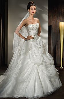 Brides: Demetrios - Young Sophisticates : Style No. 2844 : Wedding Dresses Gallery