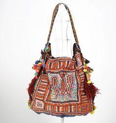 Hippie Chic Purses | Vivid Tribal One of a Kind Hippie Bohemian Bag Handmade Casual Chic