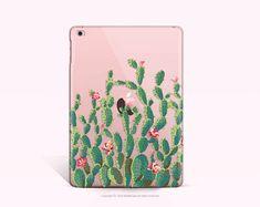 iPad mini 4  Case Cactus iPad 4 Case Clear iPad Air 2 by iDedeCase