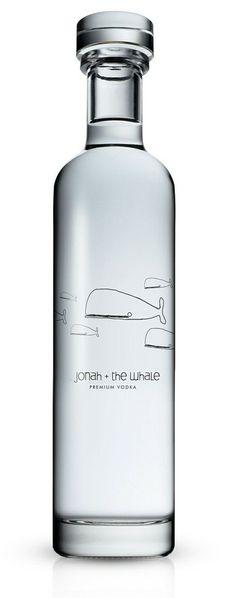 Jonah + the whale - Premium Vodka | jebiga | #packaging #labeling