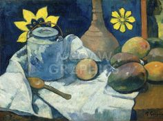 Still Life with Teapot and Fruit, 1896