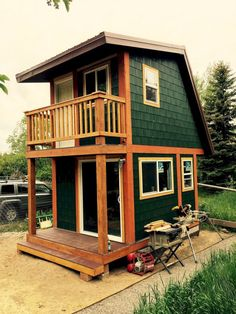 Images of Small Two Story Tiny Houses