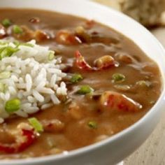 Louisiana Crawfish Bisque Creamy crawfish bisque is perfect served over bowls of hot white rice.