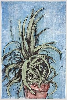Jim Dine, New Mexican Aloe