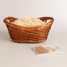 BASKET OPTION 3 - Walnut Gift Basket Kit | World Market