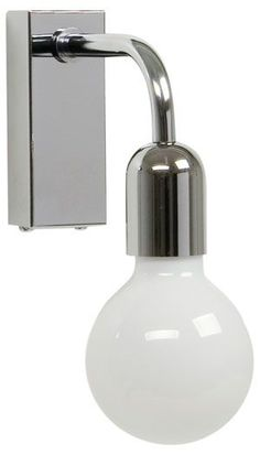 Regal - wall lamp. Made in Sweden by Belid