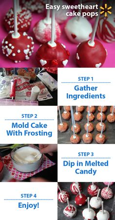 Learn how to make cake pops & whip up something sweet this Valentine's Day! These easy, quick DIY treats are fun to make, fun to decorate & fun to give away. Send some with your kids as a gift to their teacher. Bring some to a party or invite friends over to share them in person. Try experimenting with different cake fillings like chocolate or vanilla. Use varied coatings and lots of fun sprinkles, frostings and candy. Your custom designs will make for delicious gifts that everyone will…