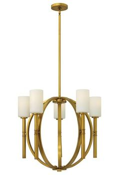South Shore Decorating:  Transitional Chandelier