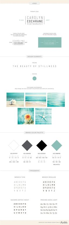 Branding identity design for Carolyn Cochrane Photography- by Aeolidia. The UX Blog podcast is also available on iTunes.