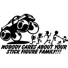 Your Stick Figure Family Was Delicious TRex Dinosuar Vinyl Car - Vinyl decals for your caramazoncom your stick family was delicious trex vinyl decal