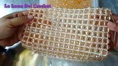 Bolso Tejido a Crochet Con Perlas - YouTube