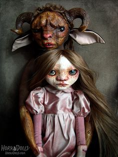 art doll TUM FAUN HorkaDolls