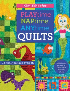 Quilts, Bibs, Blankies...Oh My! rolls out 14 quilts and more for kids and toddlers in her bold and graphic signature style. Stir your child's sense of imaginative play with adorable naptime quilts, gr