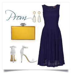 """""""Prom"""" by luca-fashion ❤ liked on Polyvore featuring Jolie Moi, Judith Leiber and Irene Neuwirth"""