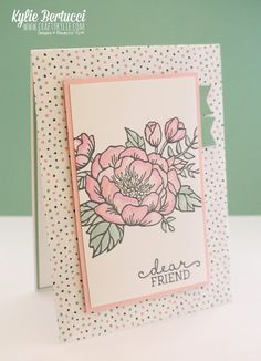 Stampin' Up! Australia: Kylie Bertucci Independent Demonstrator: 2016 Occasions Catalogue Sneak Peek - I love these Blossoms