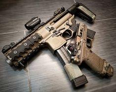 Airsoft Guns, Weapons Guns, Guns And Ammo, Ar Pistol Build, Submachine Gun, Custom Guns, Fire Powers, Military Guns, Cool Guns