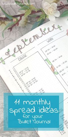 The best thing of Bullet Journaling is that you can change any layout or spread to make it perfect for you. You can create your very own style and get inspiration from all the Bullet Journals you find online.