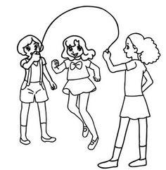 Andrea en haar zus gingen altijd samen spelen nu ze tweeling zijn met hun vrienden
