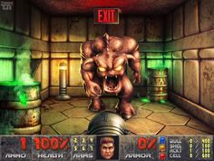 Remastered Doom.