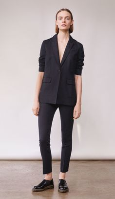 black suit women's skinny dress pants See the complete Elizabeth and James Fall 2017 Ready-to-Wear collection.