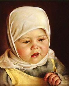 Portrait painting by Nikolai Shurygin Russian) Russian Painting, Russian Art, Art History Major, Classical Realism, Ukrainian Art, Portraits, Portrait Paintings, Ancient Art, Art For Kids