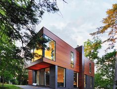 The 'Nexus House' located in Madison, Wisconsin, USA - Designed by Johnsen Schmaling Architects