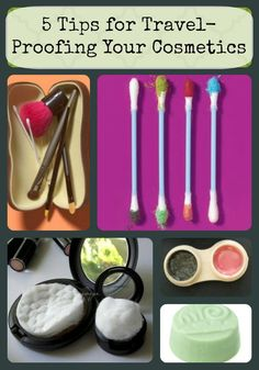 Traveling this summer?  These ideas make packing cosmetics SO much easier!  www.articles.mamaslatinas.com/beauty/113202/5_easy_ways_to_pack/11558/use_a_contact_case_as?slideid=11558?utm_source=pinterest